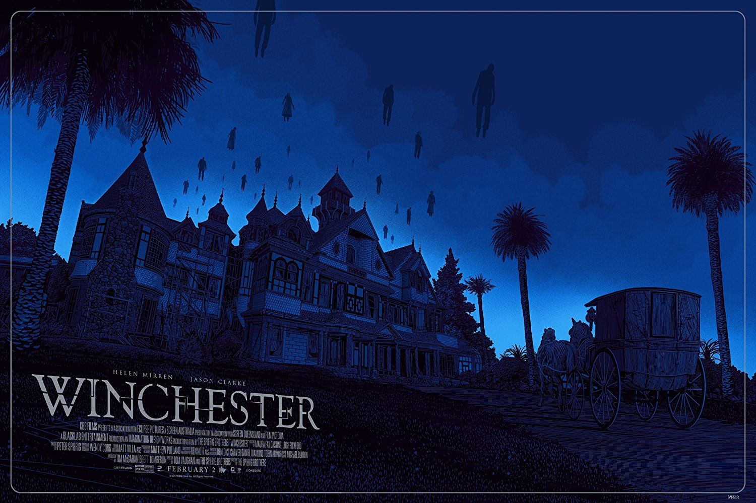 Winchester Film 2018 Winchester Mystery House Winchester Gallery Art Prints