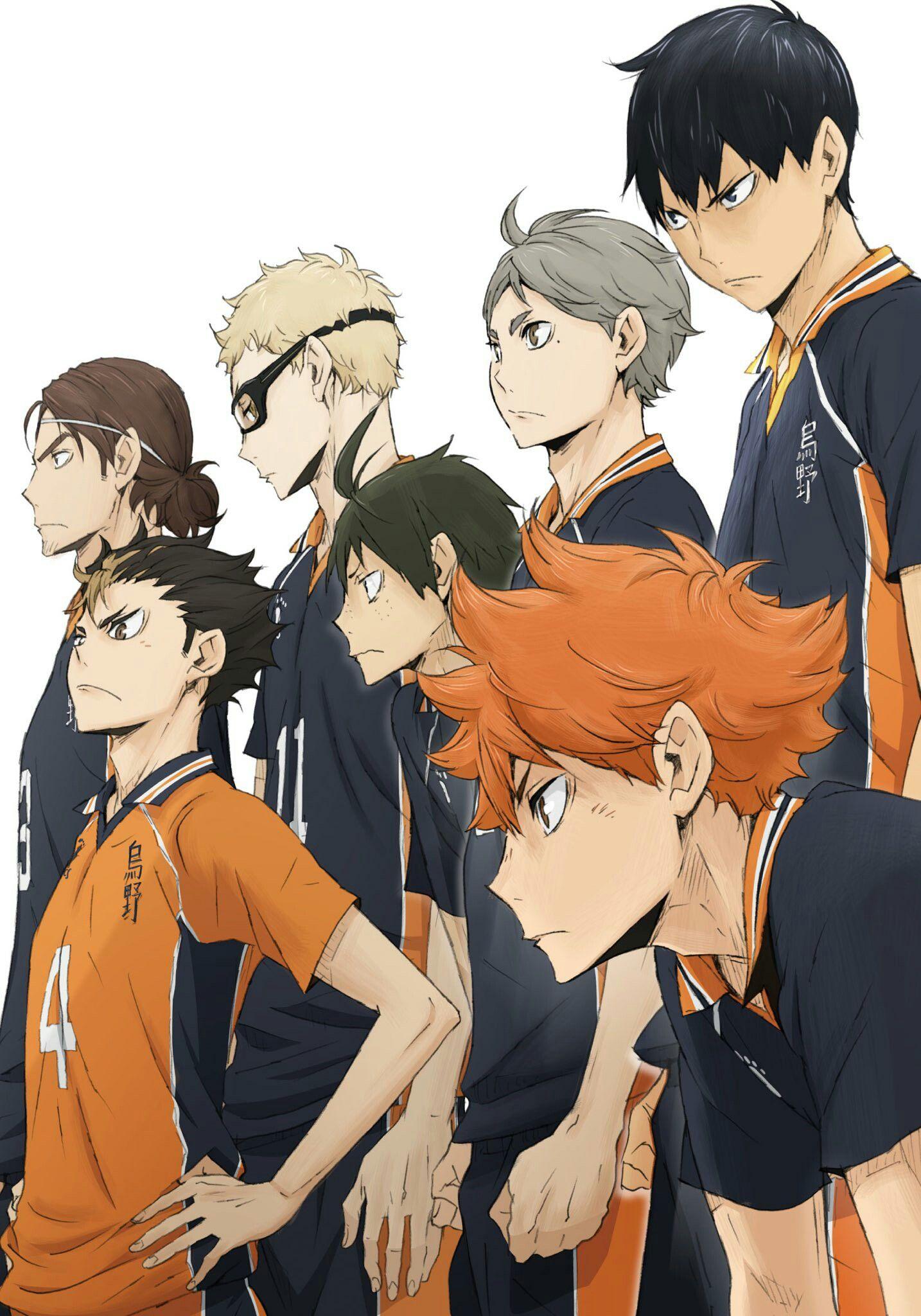 Аниме волейбол картинка