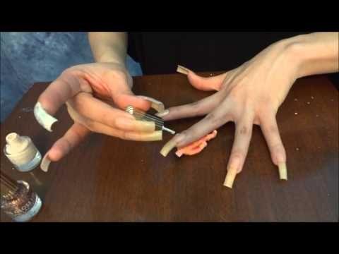 Polishing My Long Natural Nails Long Natural Nails Natural Nails Elegant Nails