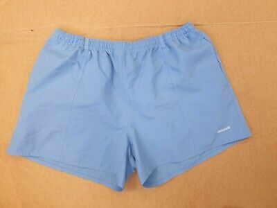 DD943 REEBOK LIGHT BLUE WHITE LOGO RUNNING SPORT SHORTS UK XL 16 #fashion #clothing #shoes #accessories #womensclothing #shorts (ebay link) #lightblueshorts