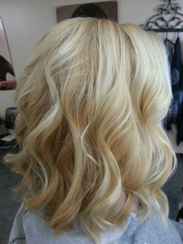 Honey Blonde And Platinum Highlights Hair Styles Hair
