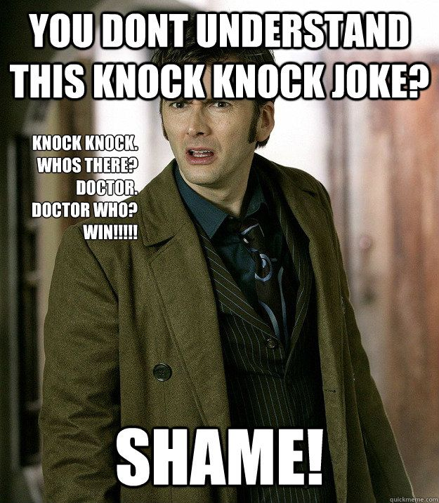 2910364237944ee0a2911ef3c676d7d7 funny doctor who memes the best doctor who memes onlines knock