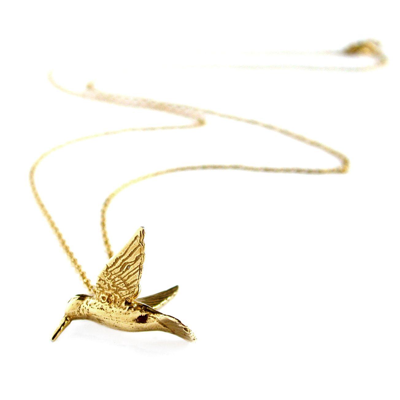 Alex Monroe Hummingbird Necklace