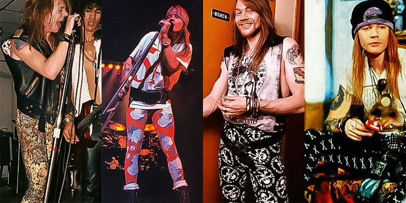 Axl Rose in leggings