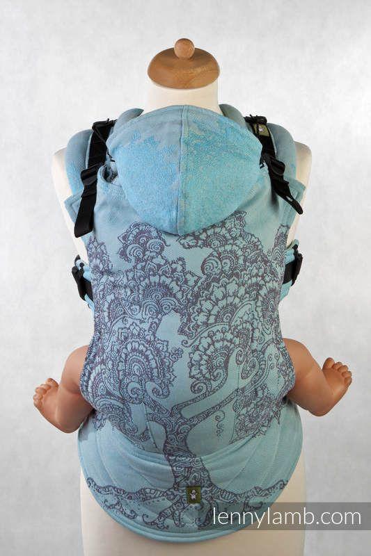 Ergonomic Carrier, Baby Size, jacquard weave 100% cotton EDEN (grade ... 7e2a78f4f90