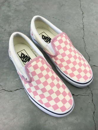 checkered pink vans   Pink shoes, Vans slippers, Vans slip on