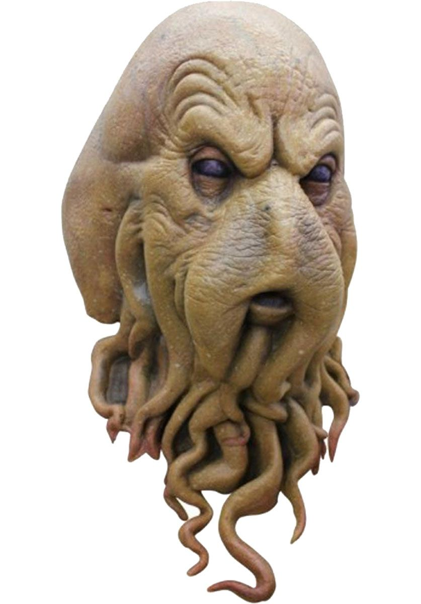 Cephaloid Mask, Deluxe Quality Horror Mask - Halloween Horror ...