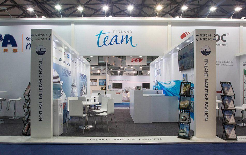 Marintec China 2015 / Shanghai Finland Maritime Pavilion 27 exhibiting companies 500m²