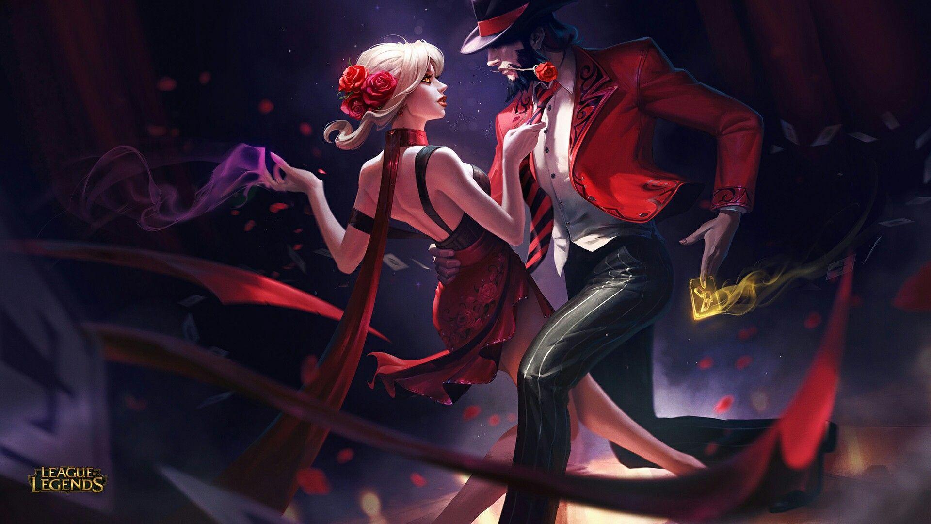 Tango Evelynn Skin -Rework 2017-Everlynn e TF <3