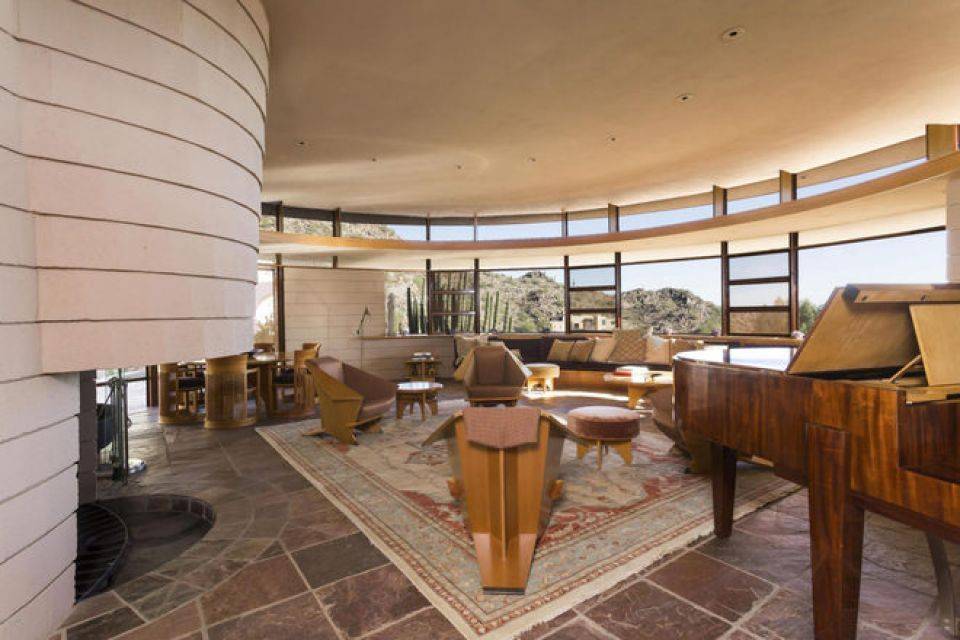 The Norman Lykes House In Phoenix Frank Lloyd Wright Design