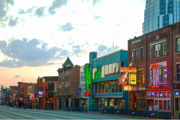 Downtown Nashville Tn Is One Of The Best Places In Nation To Go Antique