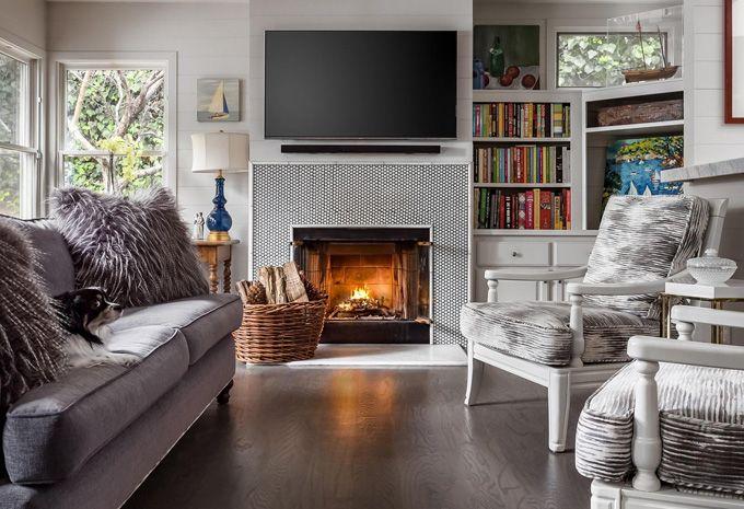 Perfekt Modernes Kamin Für Wohnzimmer