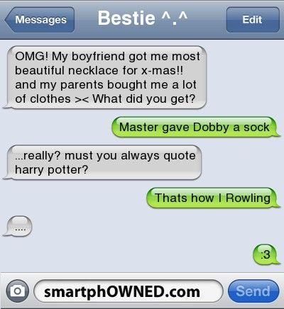 haha I need to quote HP more