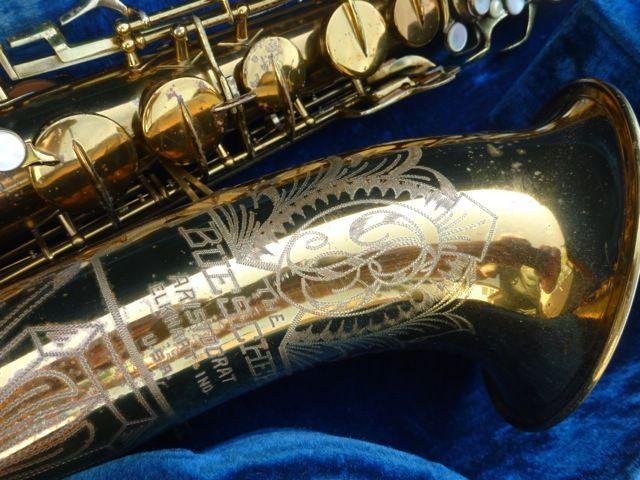 Buescher Big B Tenor 306XXX | Saxophone Bell Engraving in 2019