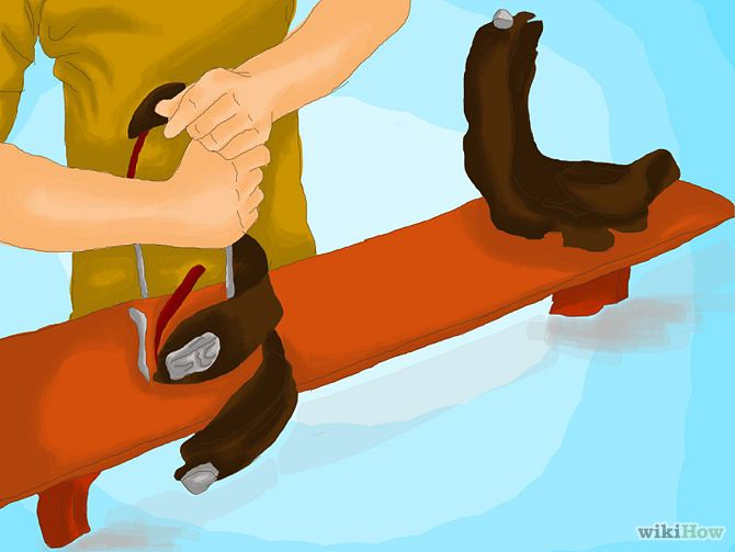 How To Wax A Snowboard Snowboard Snowboarding Skiing