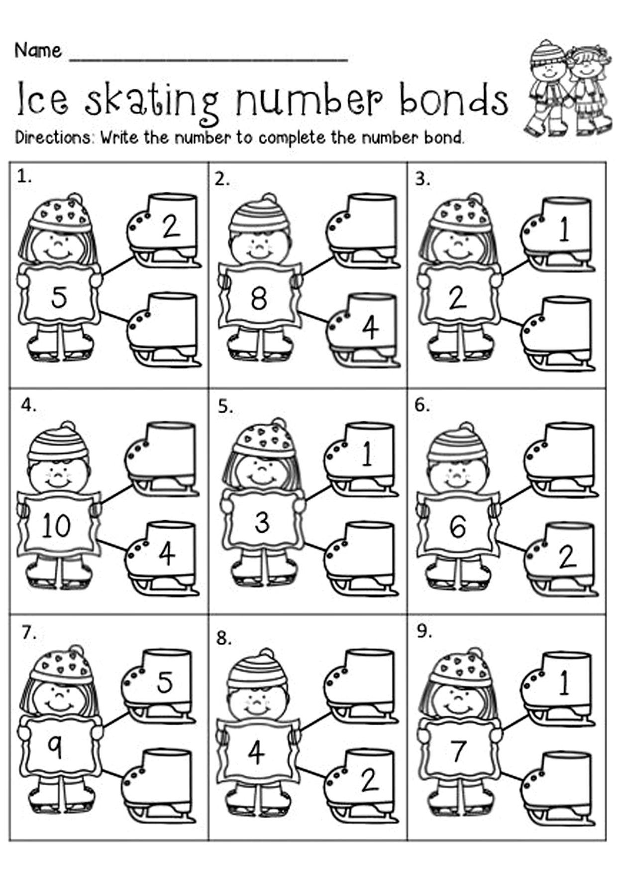 Raznoobraznye Matematicheskie Zadaniya Zima Kindergarten Math Kindergarten First Grade Math [ 1754 x 1240 Pixel ]