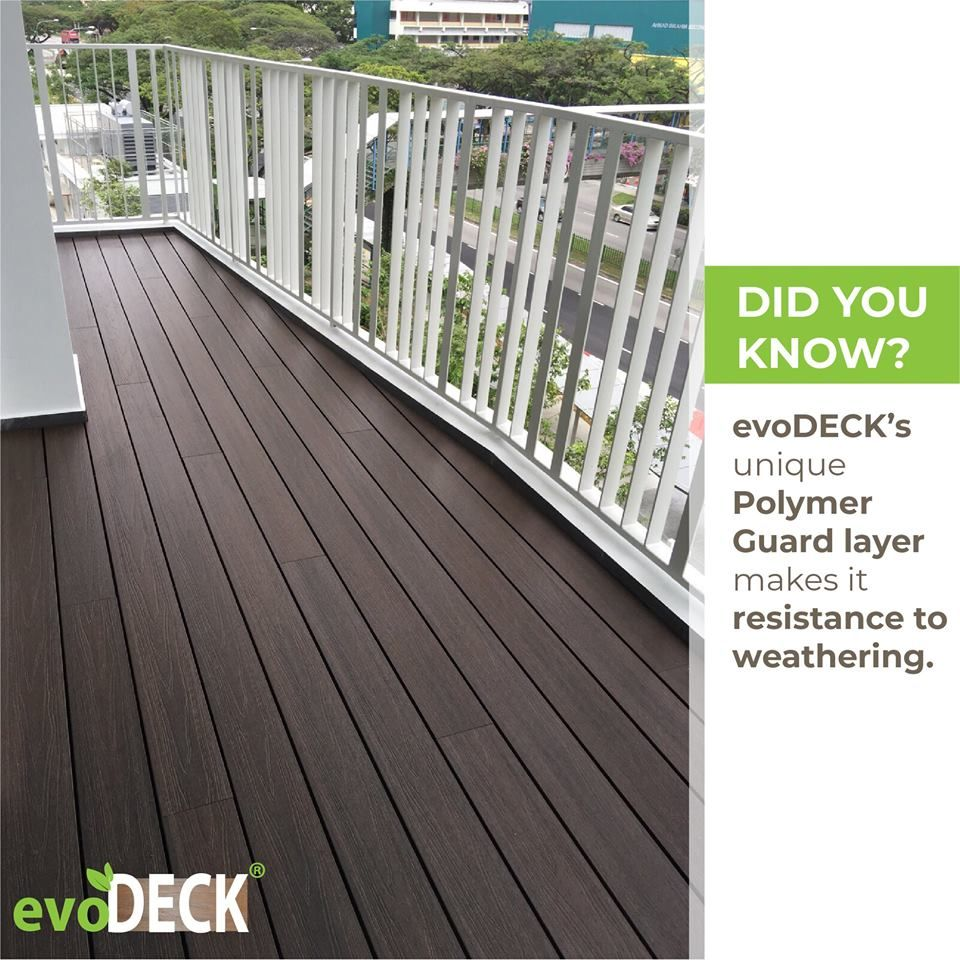 Unlike An Indoor Living Environment A Balcony Is Exposed To Daily Environmental Stresses Resulting In Wear And Te Balcony Design Decking Material Outdoor Deck