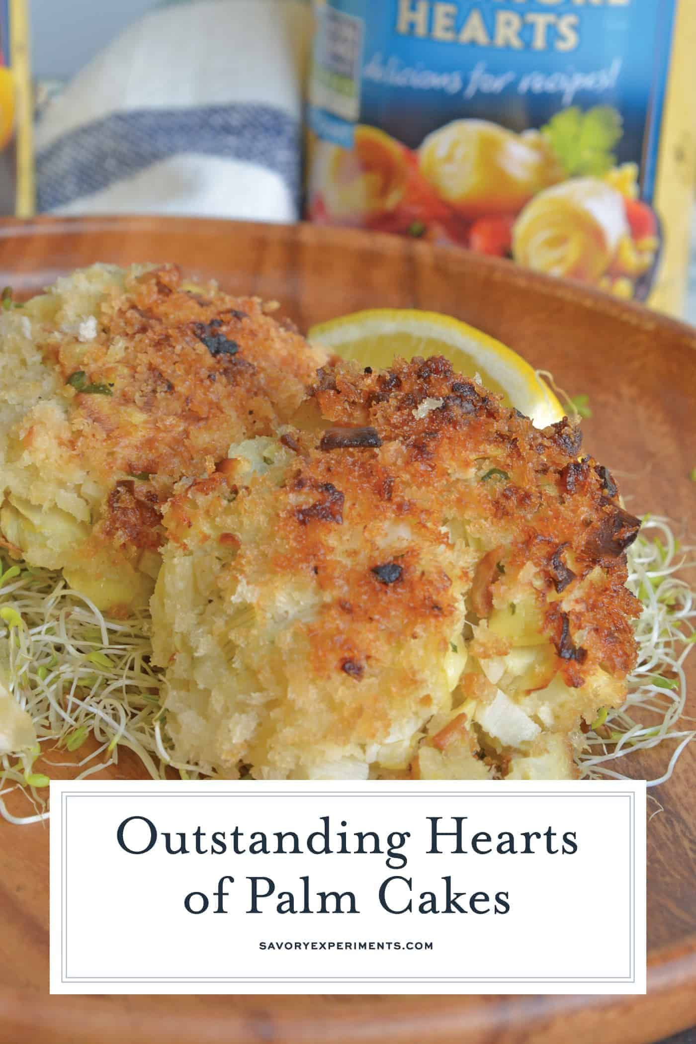 Hearts Of Palm Cakes Video Hearty Vegetarian Crab Cakes Side Dishes Sidedishes In 2020 Vegan Crab Cakes Vegan Crab Vegetarian Vegan Recipes
