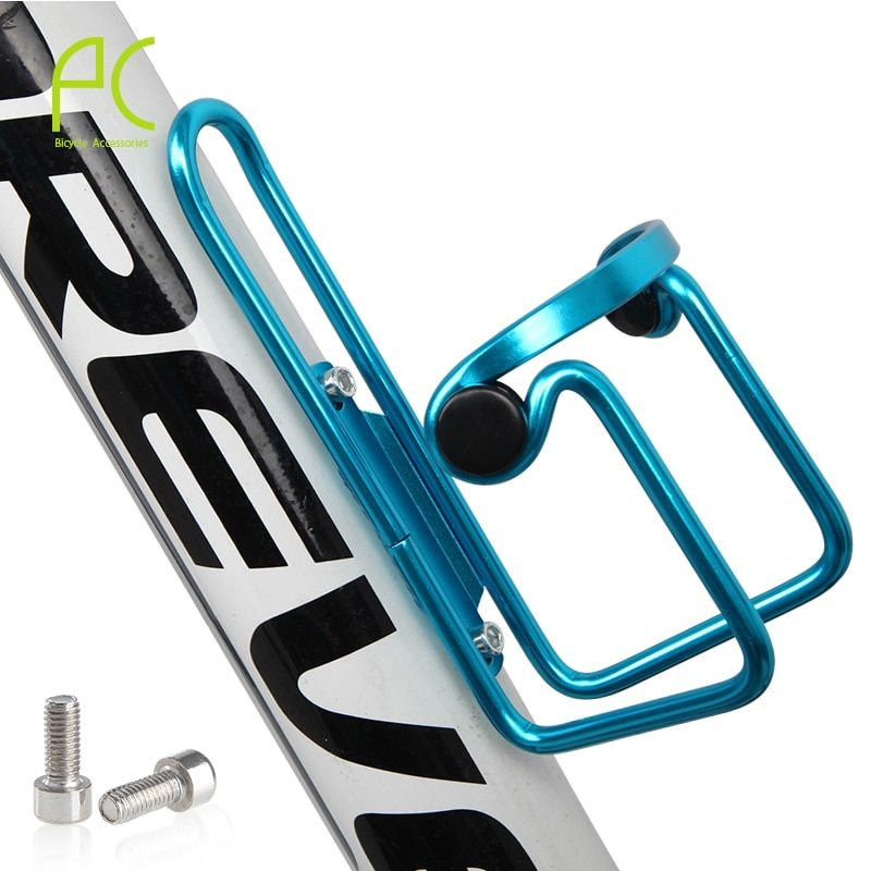 Aluminum Bracket Bicycle Cycling Cage Holder Drinks Bottle Water Stand Outdoors