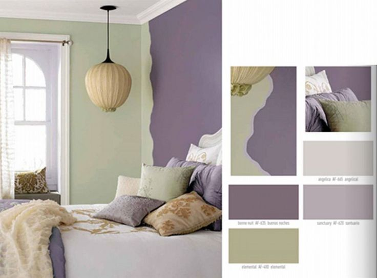 Image Result For Interior Color Purple And Sage Green