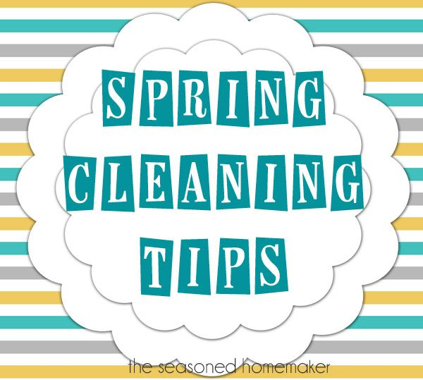 Spring Cleaning Checklist http\/\/wwwseasonedhomemaker\/2013\/04 - sample spring cleaning checklist
