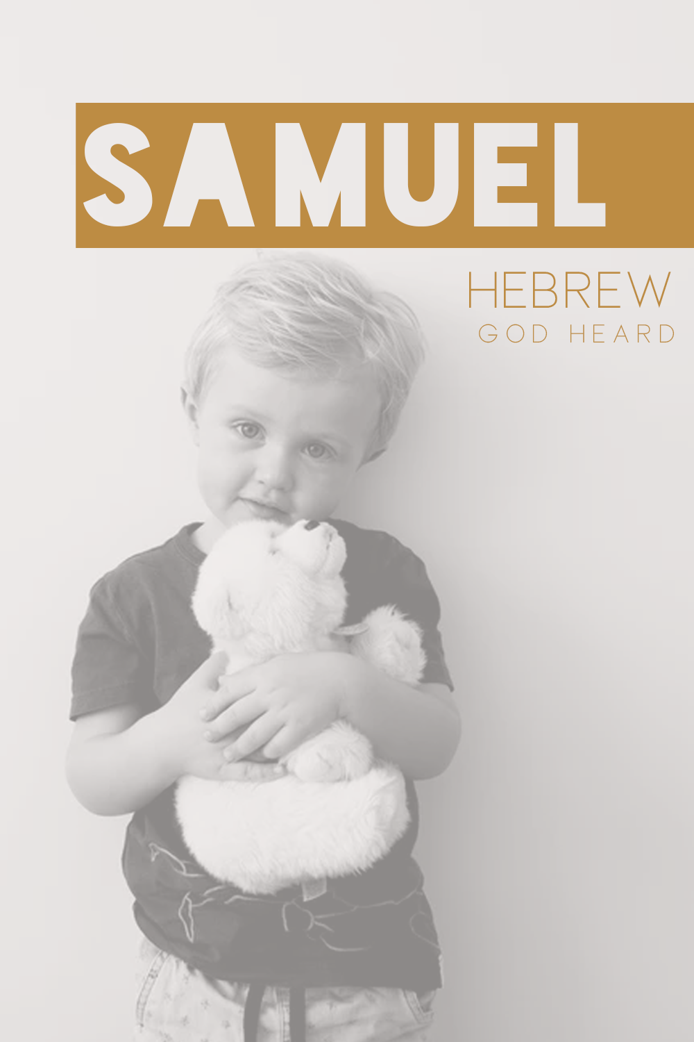 Boy Name: Samuel in 2020   Traditional baby boy names ...