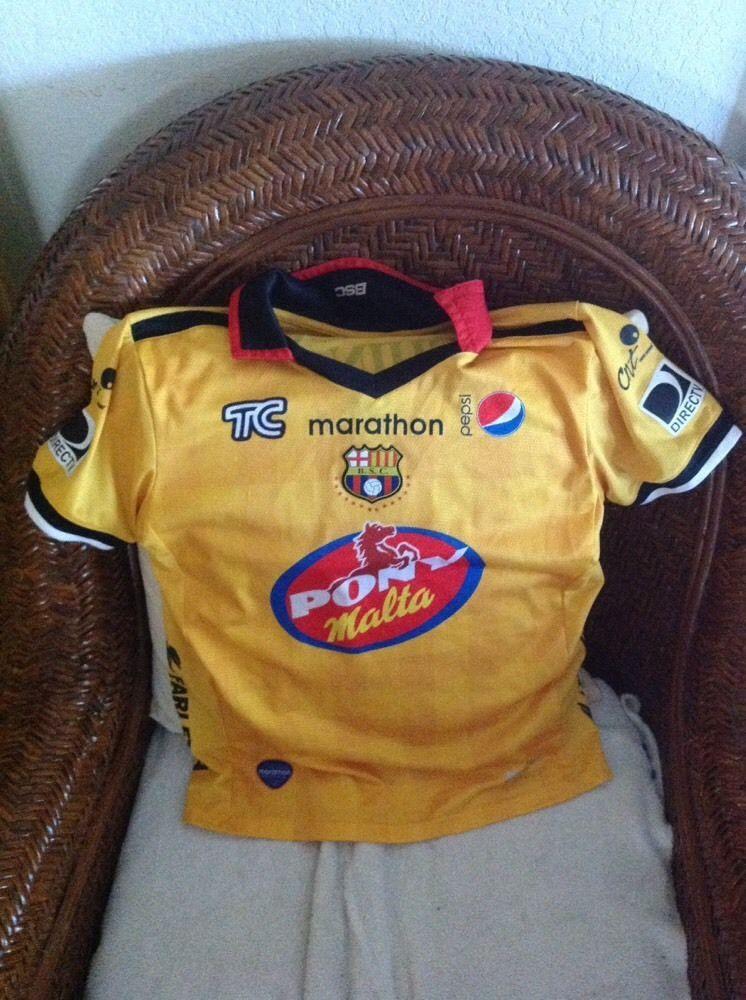 barcelona B.s.c Marathon ecuador soccer futbol jersey size