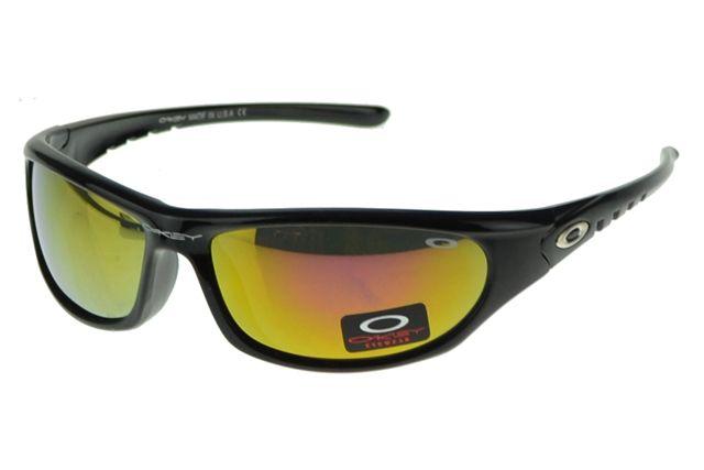 Oakley Antix Sunglasse black Frame yellow Lens