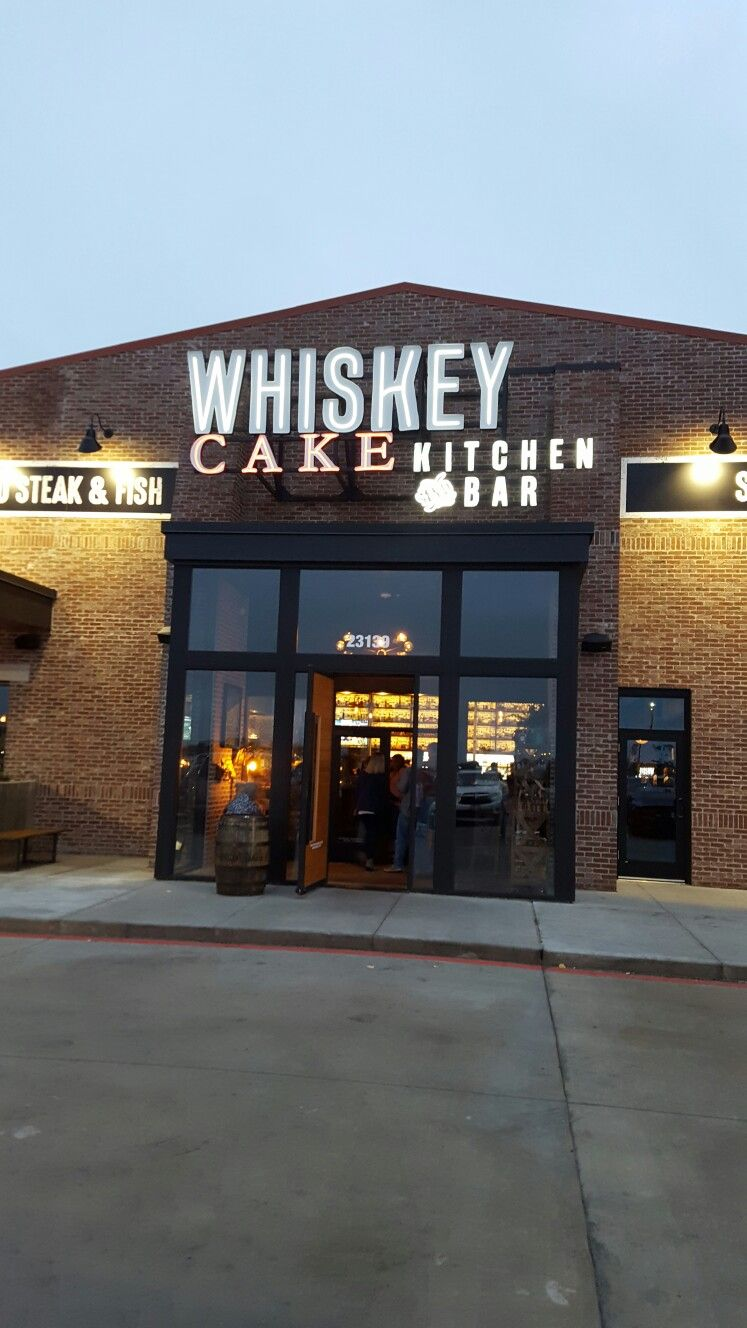 New Restaurant In Katy Texas Whiskey Cake Kitchen And Bar Specializes With