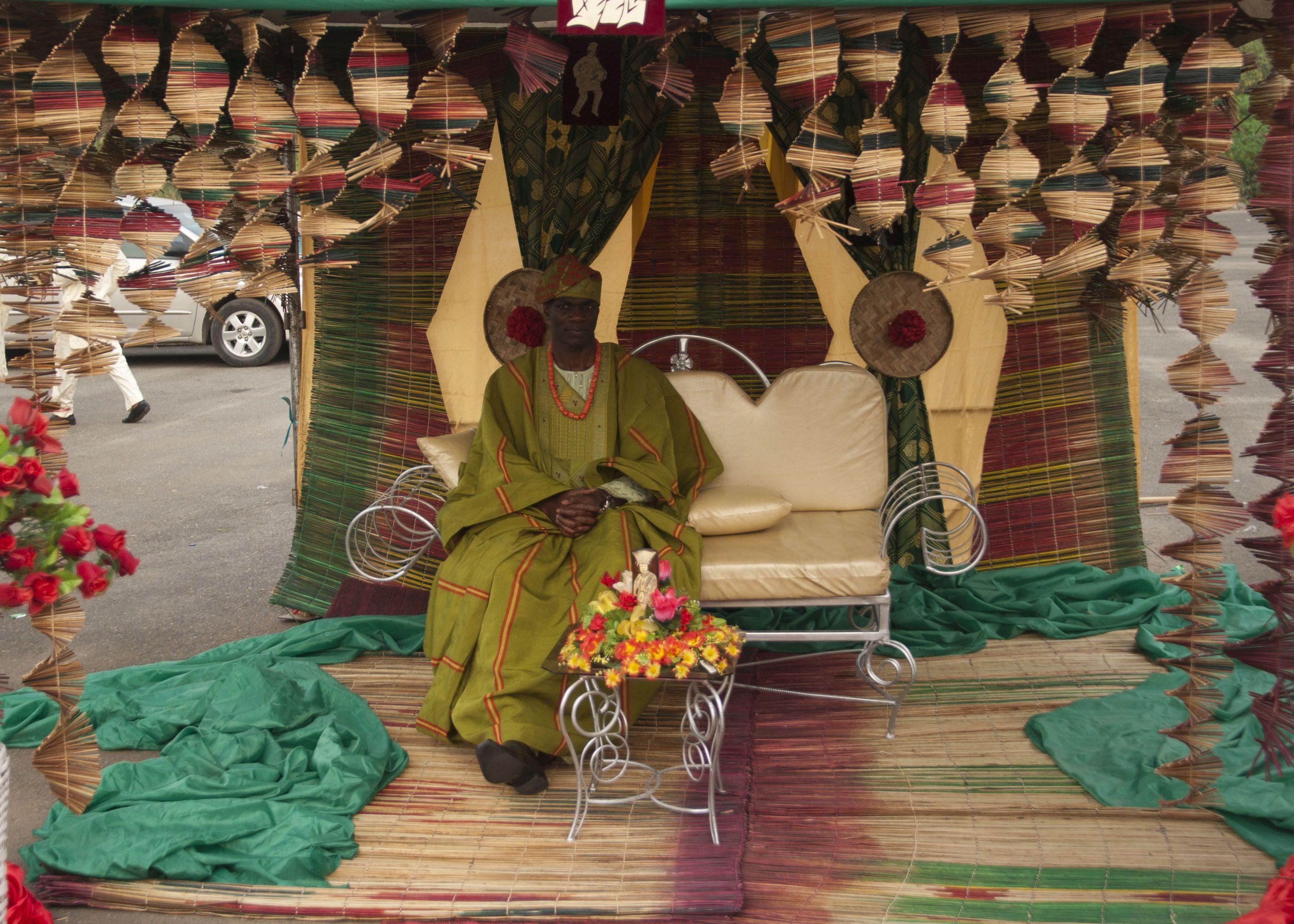 a yoruba wedding part 1 traditional weddings traditional wedding decor and weddings. Black Bedroom Furniture Sets. Home Design Ideas