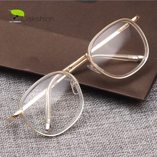 e7a9016306a Check current price Round Transparent Nerd Glasses Vintage Clear Glasses  Myopia Men Optical Lens Retro Gold Women Eyeglasses Frames Eyewear just  only  5.70 ...