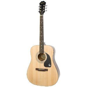 Epiphone Dr 100 Acoustic Guitar Natural 99 Plus Shipping Voted Top 10 Best Guitars Under 500 Epiphone Guitar Acoustic