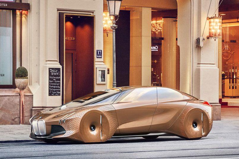 BMW Vision Next 100 Concept by Seungmo Lim