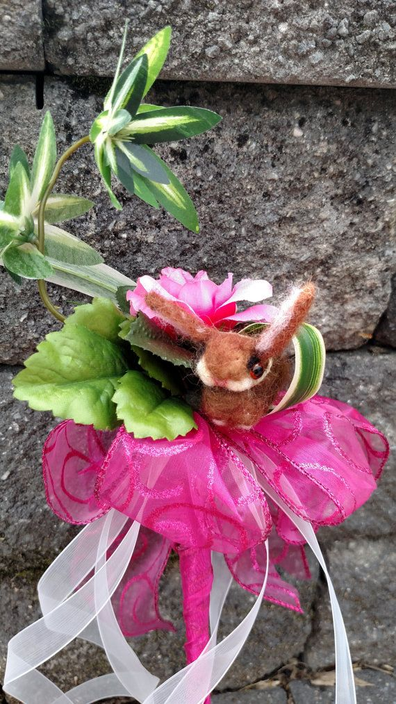 Check out this item in my Etsy shop https://www.etsy.com/listing/279895926/garden-bunny-flower-girl-fairy-tale