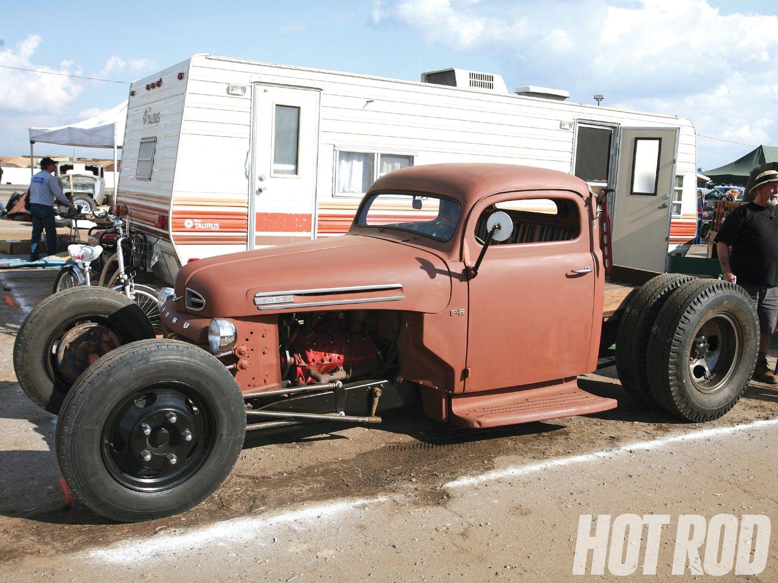 1950 ford truck rat rod