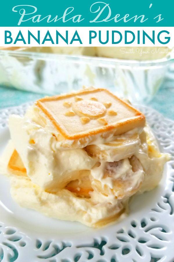 Paula Deen's Banana Pudding #bananapudding