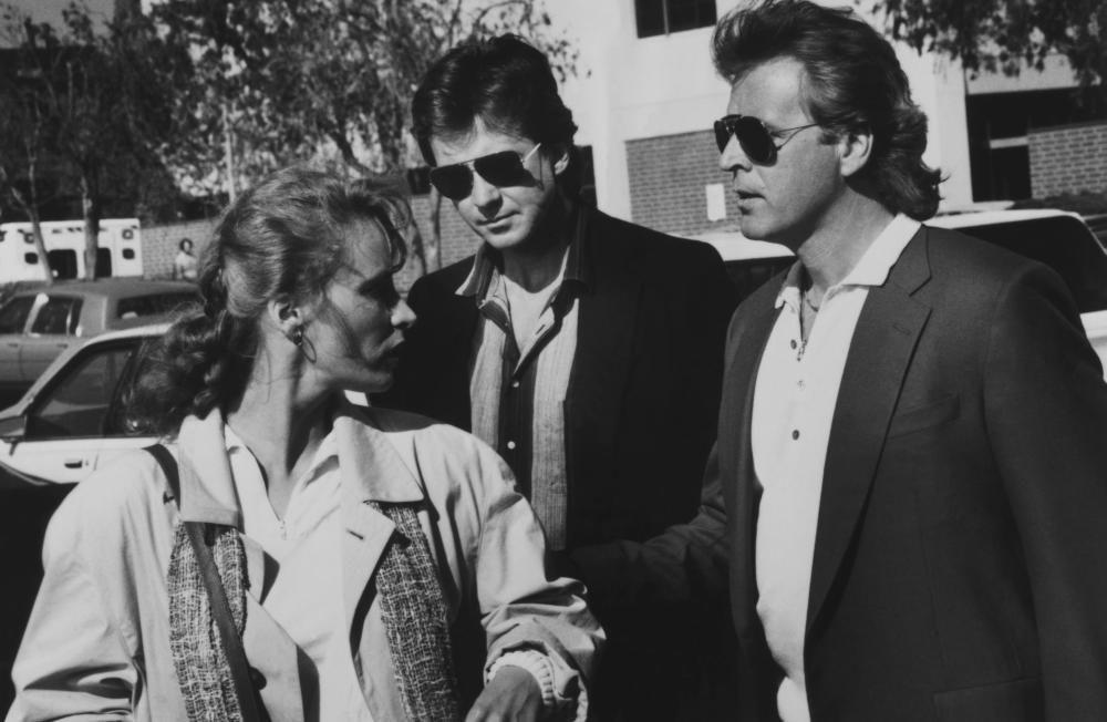 AN INNOCENT MAN, Laila Robins, David Rasche (r), 1989, (c)Buena - presumed innocent author