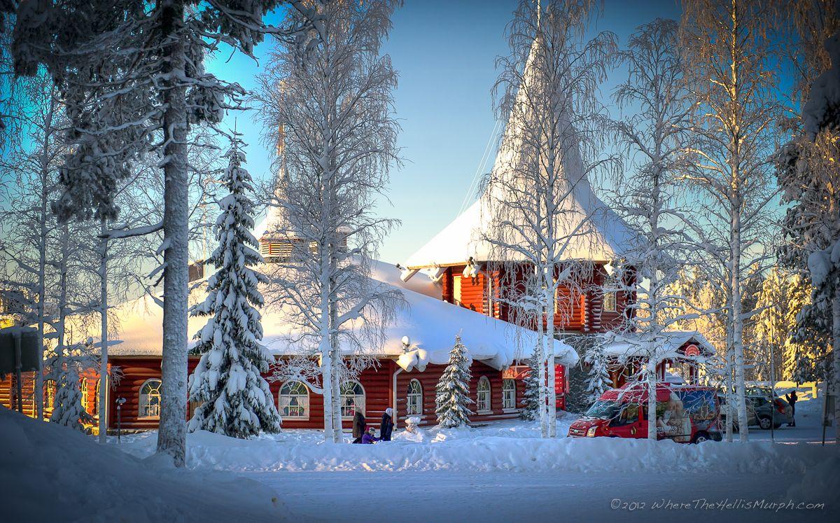 Christmas Village Finland | Santa Claus Holiday Village, Rovaniemi ...