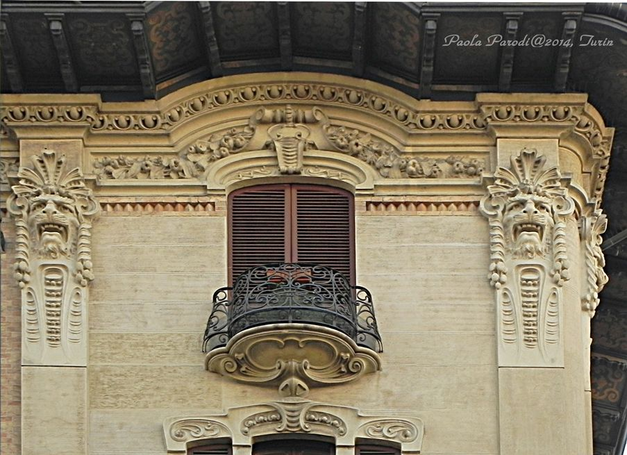 Via Duchessa Iolanda 17 - 1914, Gottardo Gussoni, Genesio Vivarelli (costruttore Giovanni Battista Carrera)