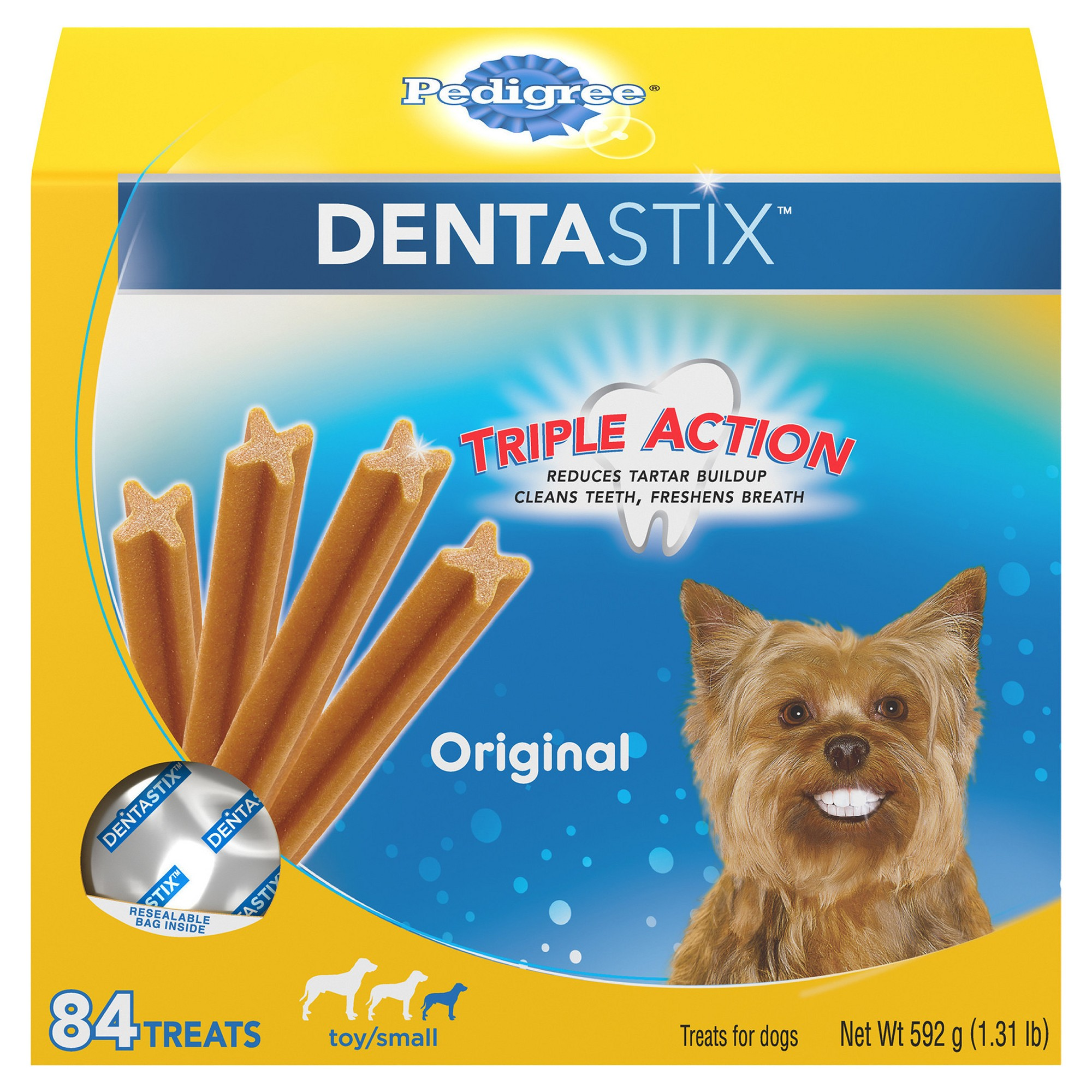 Pedigree Dentastix Original Toy Small Treats For Dogs Value Pack