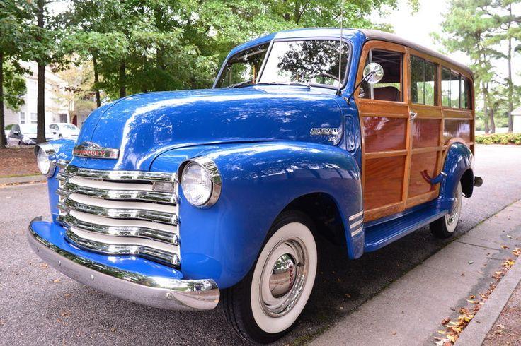 U002750 Chevrolet Highlander Woodie Suburban #Chevy #ClassicCars #CTins