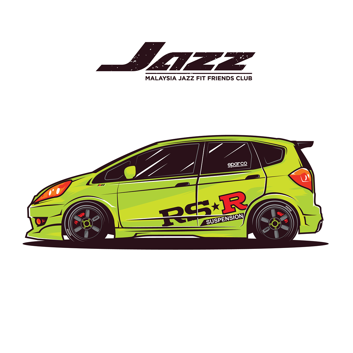 Logo Mobil Kartun
