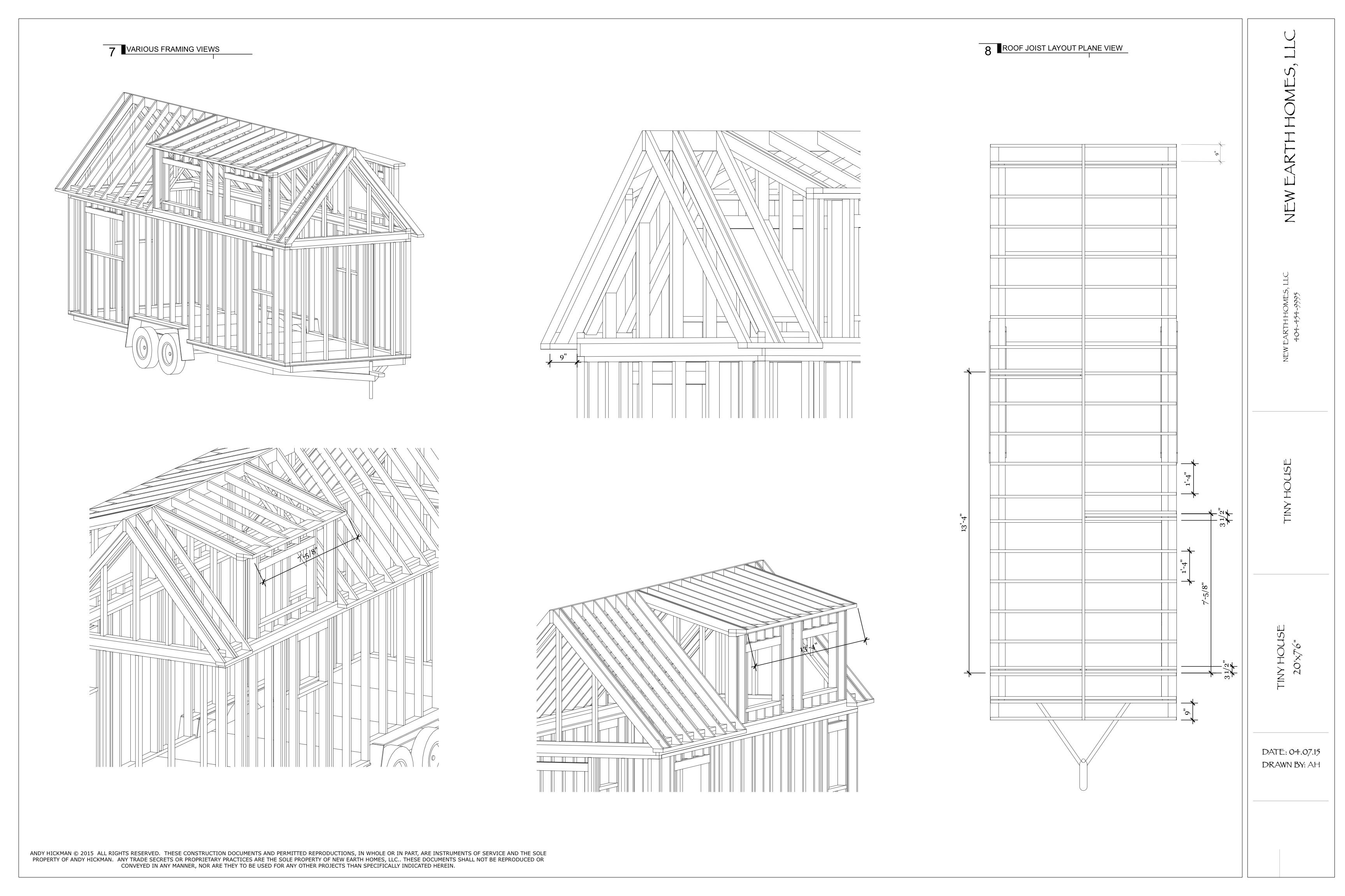 Here\'s A Free Set Of Tiny House Plans. Now Who\'s Ready To Build One ...