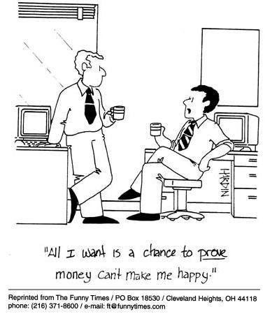 Money makes me happy #humor #funny | Work cartoons, Funny cartoons ...