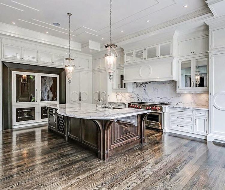 "Luxury Listings On Instagram: ""Stunning Gourmet #kitchen"