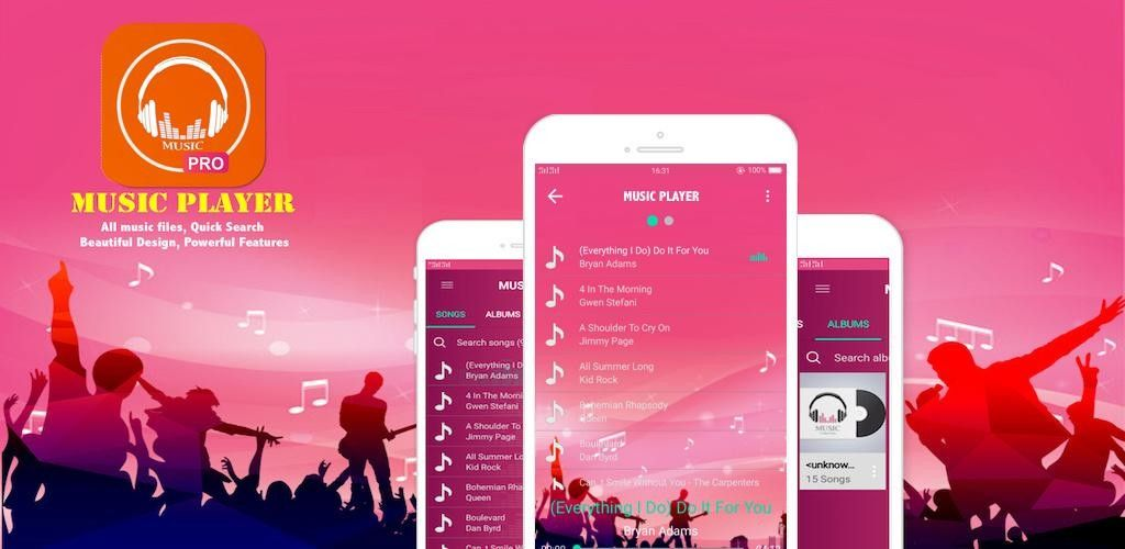 Best Music Player Pro Mp3 Player Pro for Android v1.02