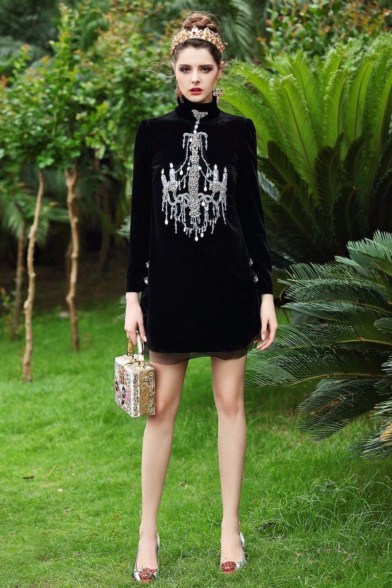 Luxury dress new autumn famous new top grade women trutleneck