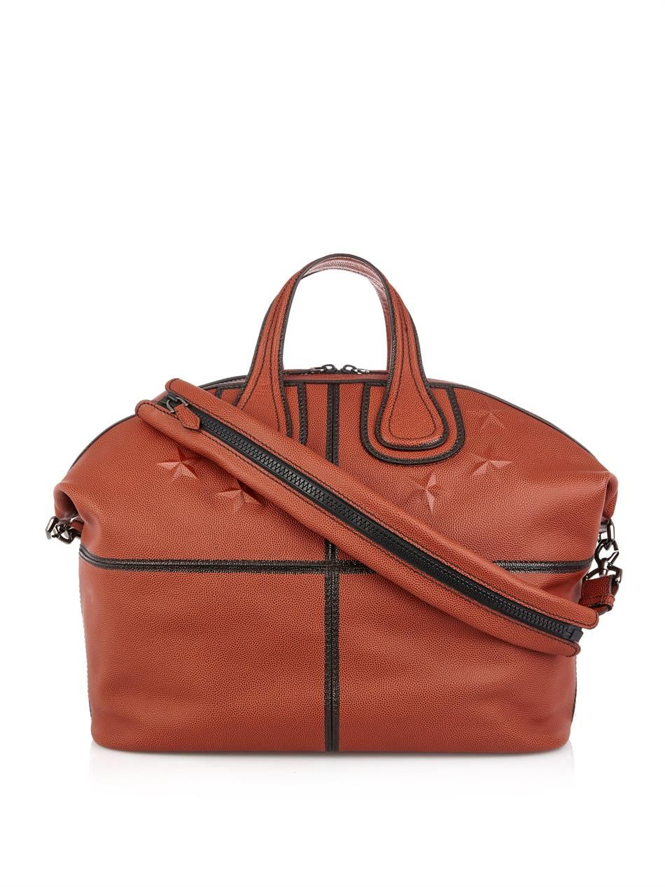 8726d0ccb1ff Givenchy Nightingale leather weekend bag Now £1