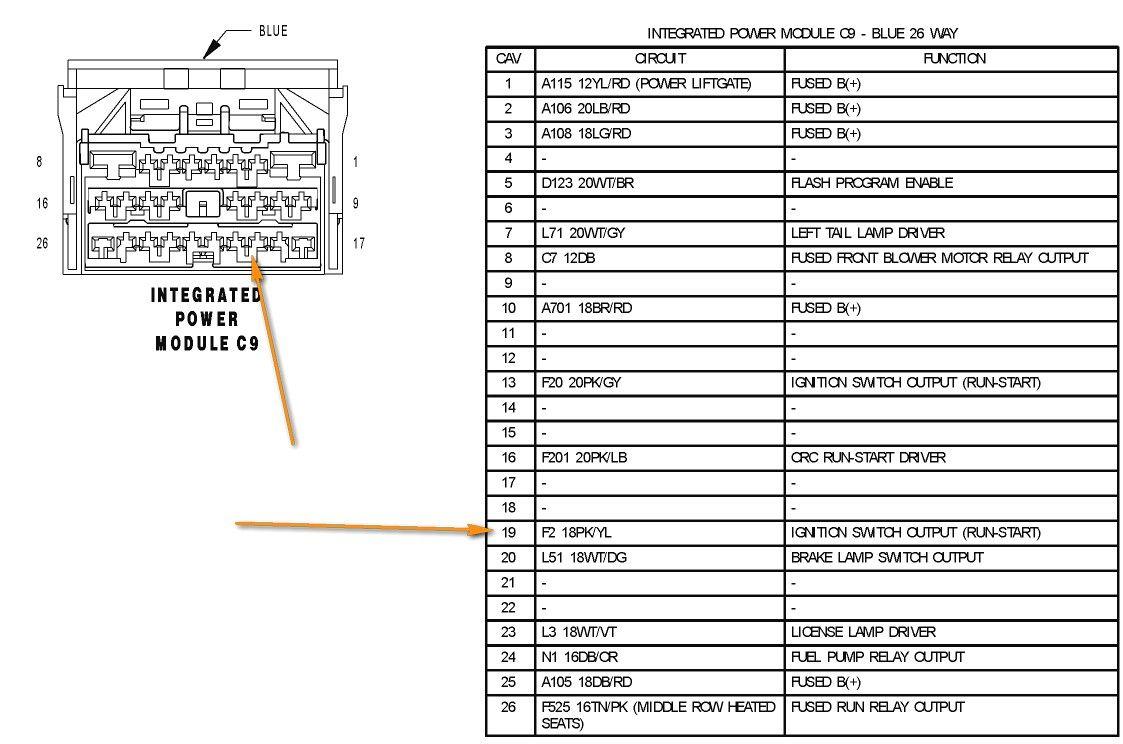 Wiring Diagram Chrysler 40 Circuit Wiring And Diagram Hub • in ...