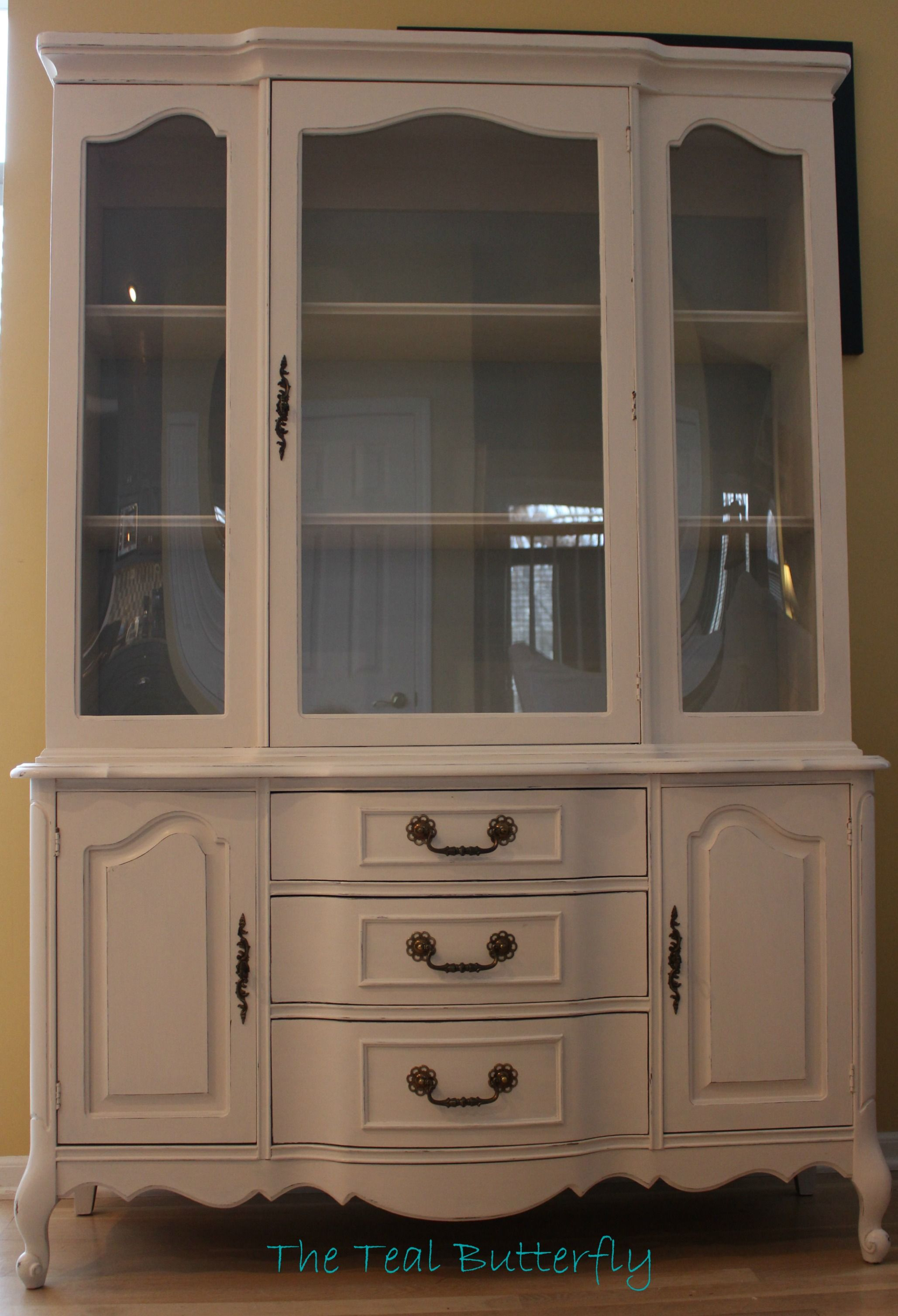 chalk paint cabinet china annie my refinished pin sloan project using first s